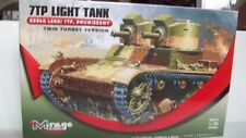 1/35th MIRAGE TWIN TURRET VERSION VICKERS 7TP LIGHT TANK 355002 FREE SHIPPING