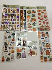 Halloween Scrapbook Stickers Lot Of 9
