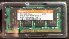 Hynix HYMD564M646B6-J (512 MB, PC2700 (DDR-333), DDR RAM) SODIMM