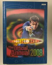 New ListingDoctor Who Official Annual 2008 Bbc Hardback. Lenticular 10th Dr David Tennant