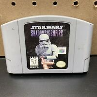 Star Wars Shadows of the Empire - Nintendo 64 N64 Game Cartridge Only- Tested