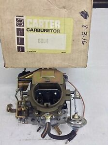 NOS CARTER BBD CARBURETOR 8064S 1975 CHRYSLER DODGE PLYMOUTH 318 ENGINE