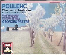 Georges Pretre. - Poulenc: Oeuvres orchestrales.2 CDs  077776269023