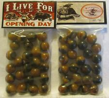 "2 Bags Of Winchester Rifles ""Opening Day Hunting"" Promo Marbles"