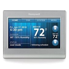 Honeywell Rth9580Wf Smart Wi-Fi 7 Day Programmable Color Touch Thermostat Silver