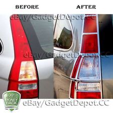 For 2007 2008 2009 2010 2011 Honda CR-V Chrome Tail light Covers