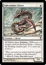 SIDEWINDER SLIVER Time Spiral MTG White Creature — Sliver Com