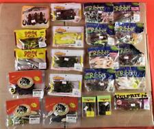 Lot of 22 Pkgs Soft Plastics Frogs Strike King Ribbit Reaction V&M + Mixed Lot