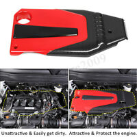 Engine Cover Bonnet Hood Carbon Look For Honda Civic Accord 10th 2016-2019  !