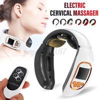 Elektrische Massagegerät Halswirbel Nackenmassagegerät Rücken Körper Schultern