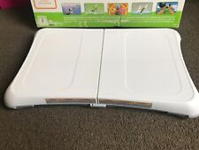 nintendo wii fit game and board
