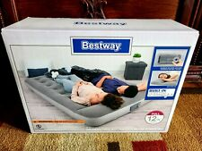 New! Full Size Air Bed Mattress Inflatable Built In Ac Pump Sleeping Camping