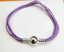 Gen Pandora Multi-strand String Bracelet Lavender - 590715CLA-M2 19cm - retired