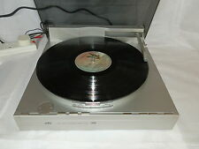 JVC L-E5 Turntable Fully Automatic Direct Drive Linear Tracking Made in Japan