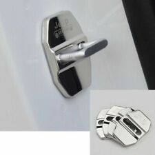 Stainless steel Door Lock Striker Cover for Jeep Wrangler Compass Patriot