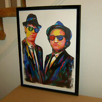 The Blues Brothers Aykroyd Belushi Music Poster Print Wall Art 18x24