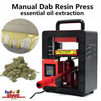 5 Ton Hydraulic Rosin Extraction Machine Herb Wax Dab Essential Oil Dry Flowers