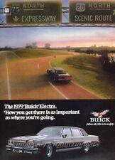 1979 Buick Electra Original Advertisement Print Art Car Ad J861