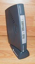 Motorola (VT2442) Vonage VOIP 4-Port Router Modem With Stand **READ**