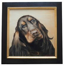 Original oil painting of Cocker Spaniel Dog