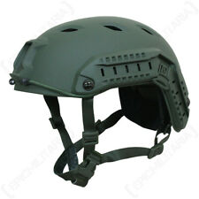 US Paratrooper Helmet with Rail - Olive - American Army Airsoft Special Forces