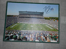 Le'Veon Bell Michigan State Spartans Stadium Canvas Autographed Picture Signed