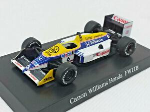 1:64 Aoshima Williams Car Collection Fgp Canon Williams Honda FW11B
