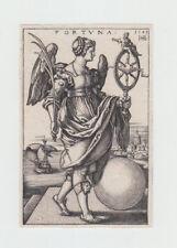 Hans Sebald Beham (Norimberga 1500 - Francoforte 1550) La Fortuna