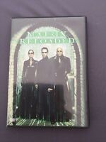 DVD MATRIX RELOADED + disco EXTRAS - Keanu Reeves Laurance Fishburne Carrie Moss