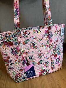 Vera Bradley Hope Blooms Pink BCA Small Vera Tote Purse Bag Floral Limited NWT