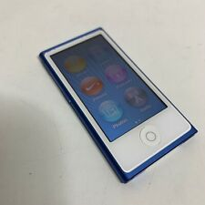 Apple iPod Nano 7th Generation - A1446 - Blue (16 GB) Works - Good Cond