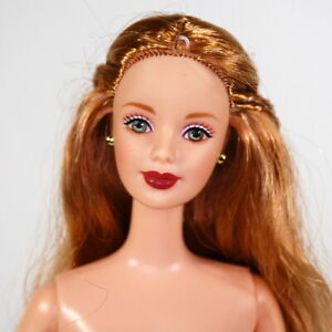 Barbie Nude Guinevere Doll OOAK Strawberry Blonde Long Hair Camelot King Arthur