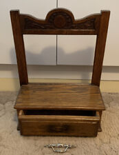 Vintage / Antique Wooden Draw / Stand