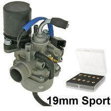 19mm PHVA Sport Vergaser KIT Piaggio TGB Akros  Bullet Corona Hawk Laser R50X 50
