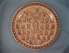 Our Presidential Gallery Collector Plate Vernon Kilns Vintage 1953 President (O)