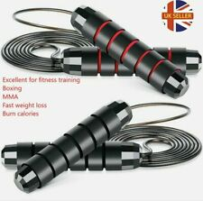 Adjustable Boxing Skipping Rope Gym Fitness Jump Speed Rope Workout Adult Kids