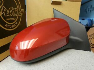 NEW RED Right Passenger Mirror Fits 2014-2019 Toyota Corolla Power Heated