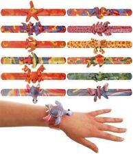 6 Animal Snap Bracelets - Pinata Toy Loot/Party Bag Fillers Wedding/Kids