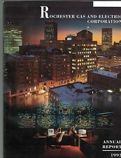 Rochester Gas and Electric Co 1993 Annual Report RGE Utility