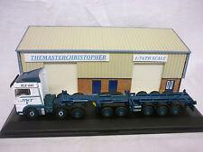 Oxford Diecast/Modern 1:76th Truck MAN TGX Combi Trailer NWT 76MAN03CT