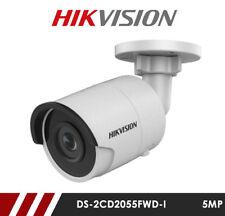 Hikvision DS-2CD2055FWD-I 5MP Network IP CCTV Bullet Camera 30m IR 2.8mm