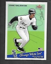 JOSE VALENTIN 2002 FLEER TRADITION SP #66 CHICAGO WHITE SOX  FREE COMBINED S/H