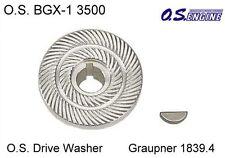 Drive washer bgx-1 TRASCINATORE disco GRAUPNER 1839.4