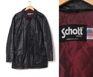 Leather men for schott jackets Men's Pea
