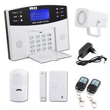 Kit Alarme de Maison Téléphonique sans fil Securité GSM Système alarme antivol
