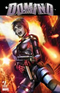 DOMINO 1 GREG HORN COMICXPOSURE VARIANT NM