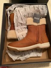 ECCO Women's Trace Lite Cold Weather Boot Amber EU 39/US 8-8.5 NEW in BOX