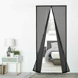 Insektenschutz Tür Magnet Fliegengitter Türvorhang Magnet Vorhang in 4 Größen