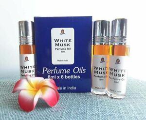 "Kamini Perfume Oil ""White musk"" 8 ml If Buy 3 Get 1 Free!! Seduce fragrance."