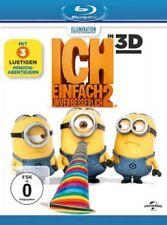 ICH-EINFACH UNVERBESSERLICH 2 - 3D + 2D - BLU-RAY NEU